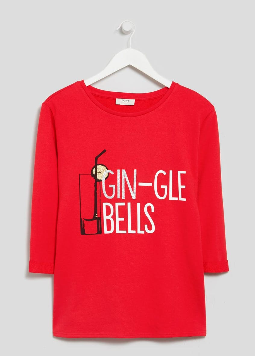 Gin Novelty Christmas Sweatshirt