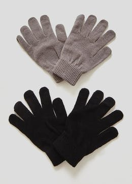 Ladies 2 Pack Magic Gloves (One Size)