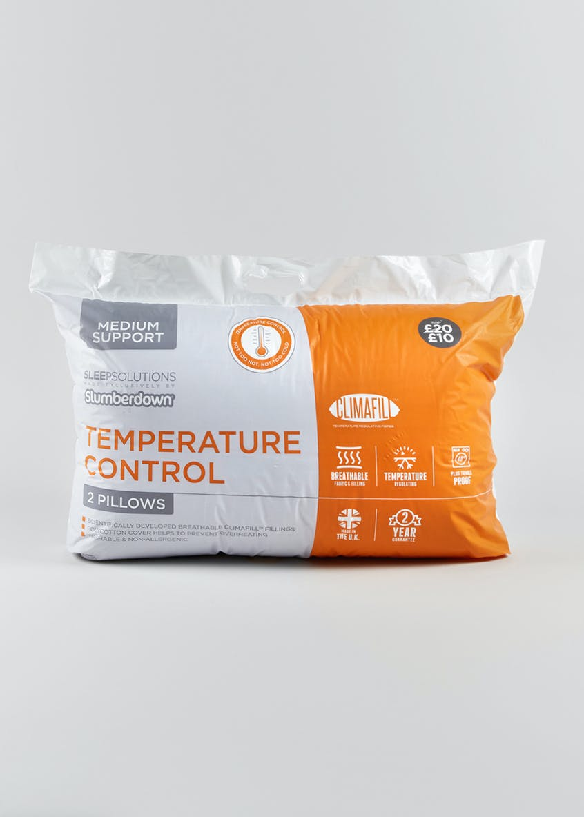 Slumberdown Temperature Control Pillow Pair