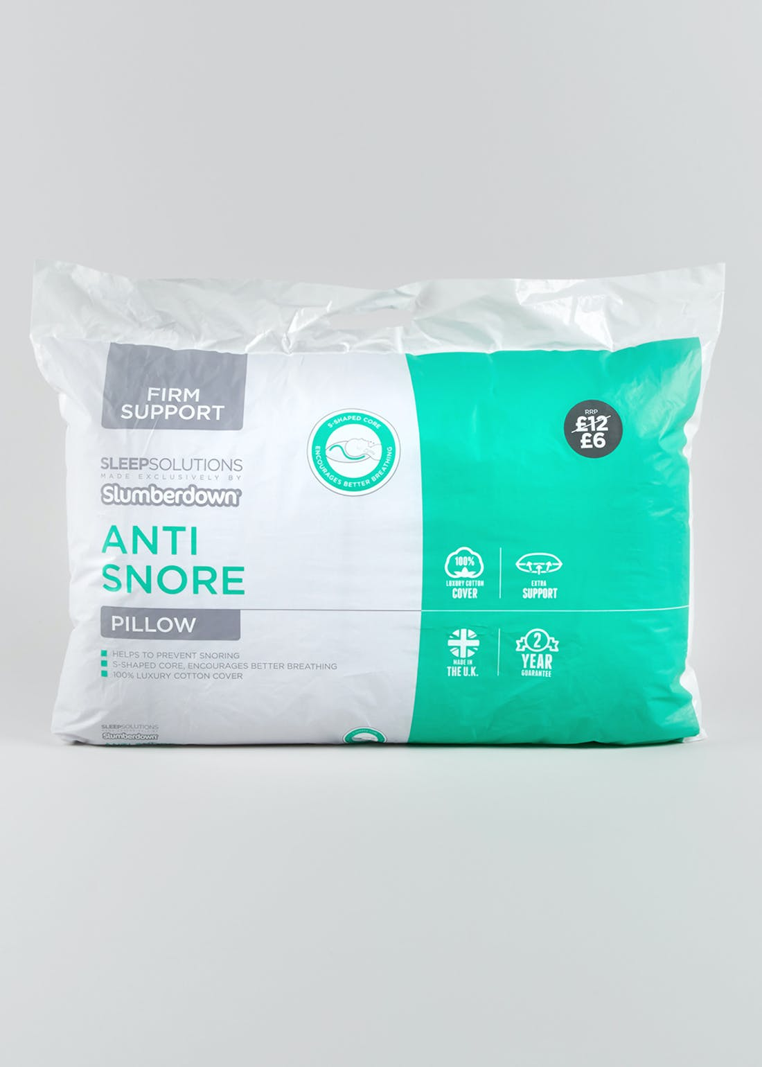 Slumberdown Anti Snore Pillow