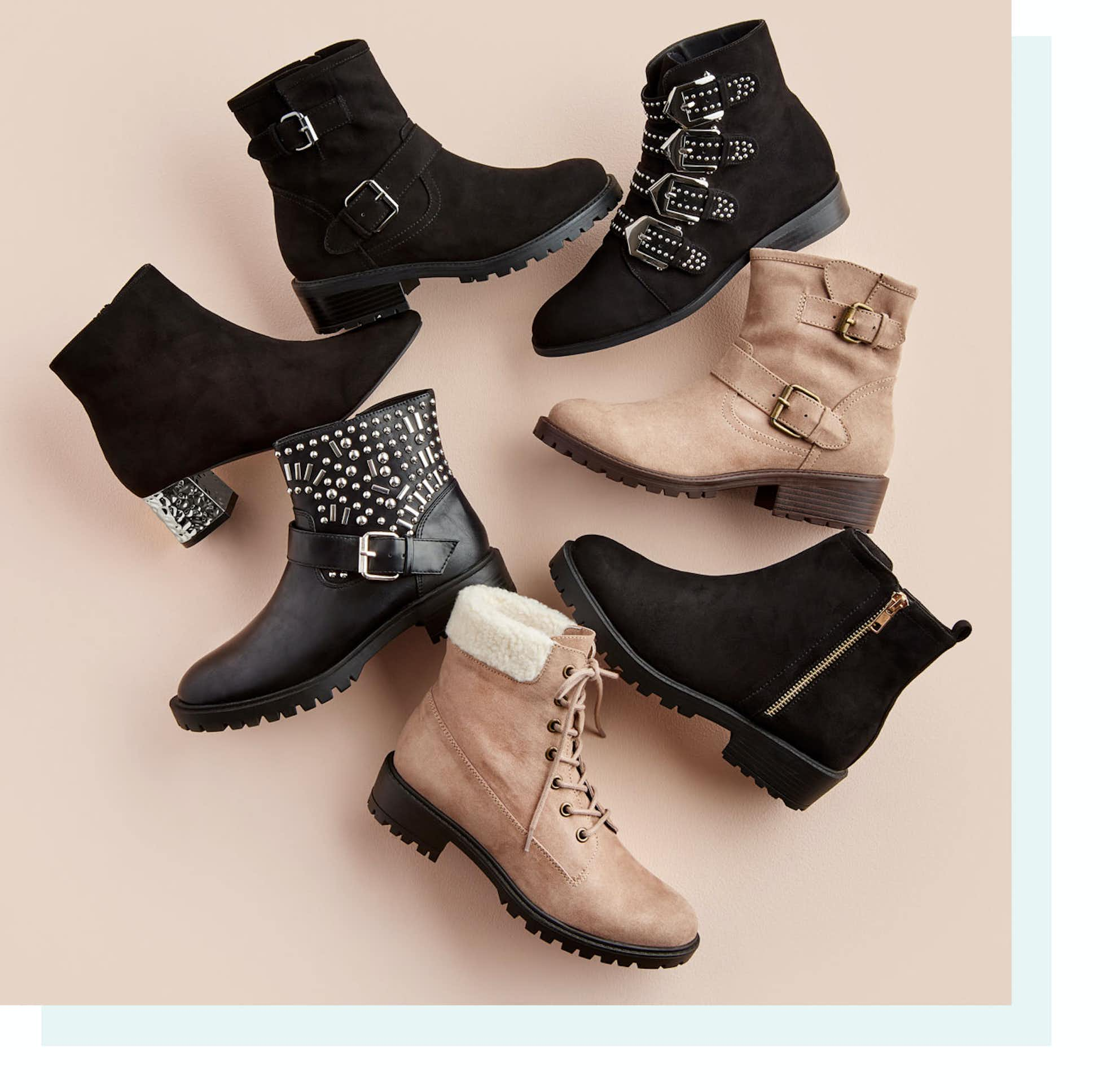 Shop Detailed Ankle Boots