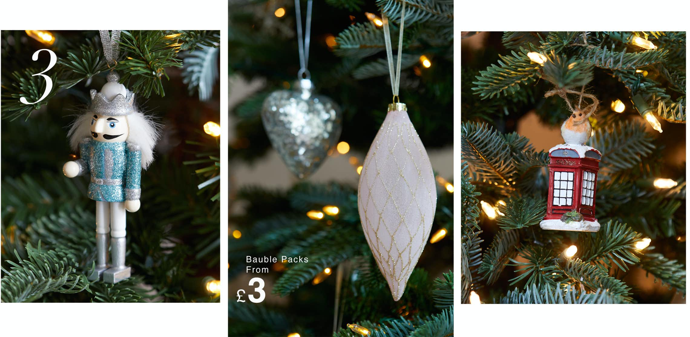 How to decorate a christmas tree tips advice matalan for B q christmas decorations