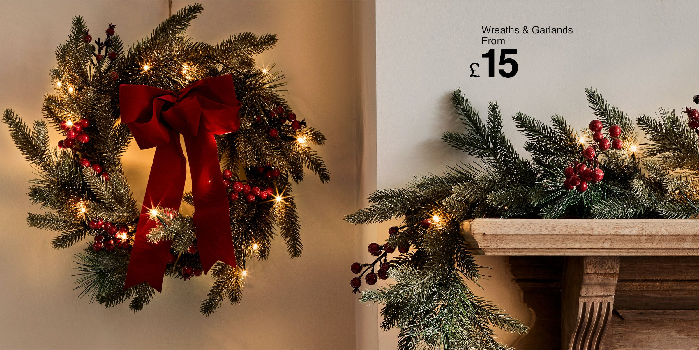 Attractive Fireplace Christmas Decorations Part - 10: Shop Christmas Decorations