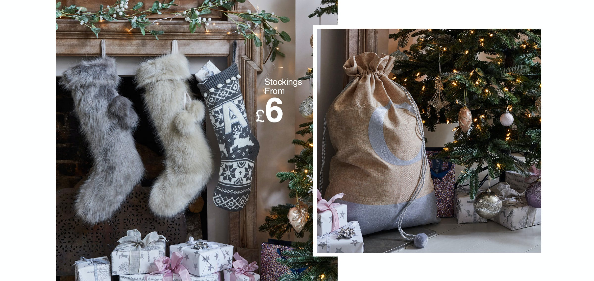 how to decorate your fireplace for christmas u2013 matalan