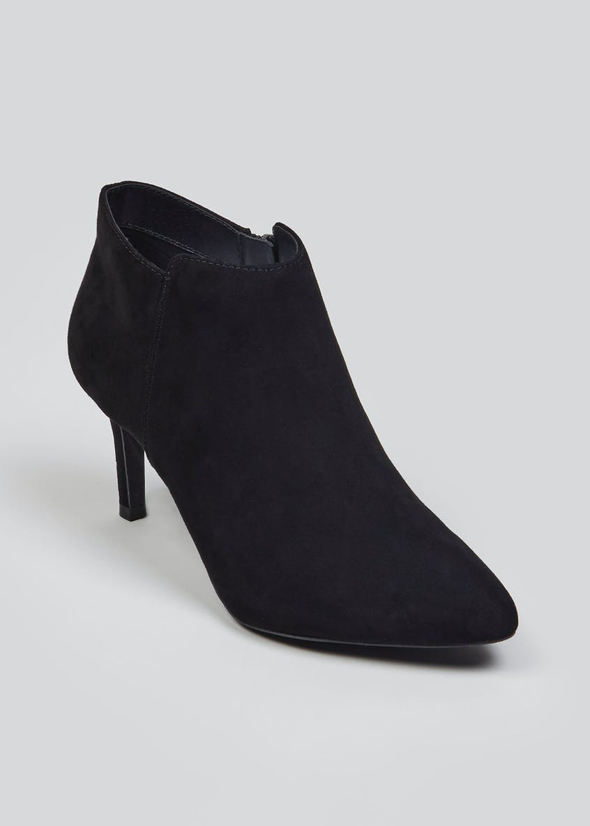 Zip Detail Shoe Boots
