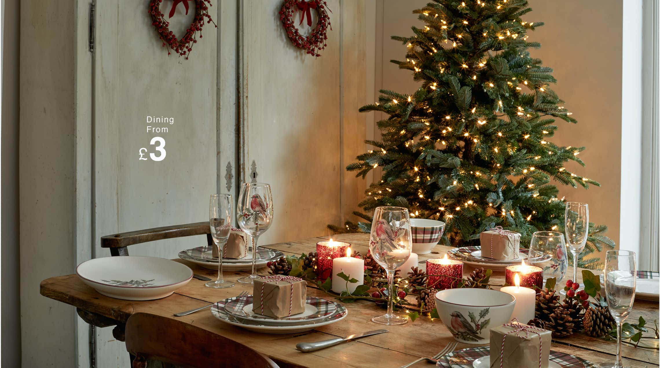 How To Set The Perfect Christmas Dining Table Matalan