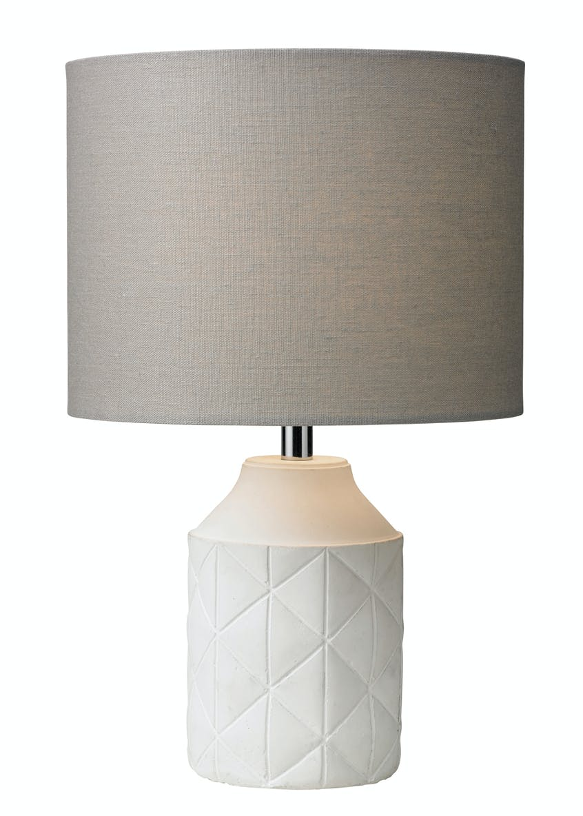 Luca Concrete Table Lamp (H36cm x W22cm)