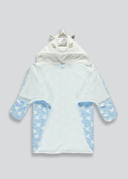 Girls Unicorn Cape Dressing Gown (9mths-5yrs)