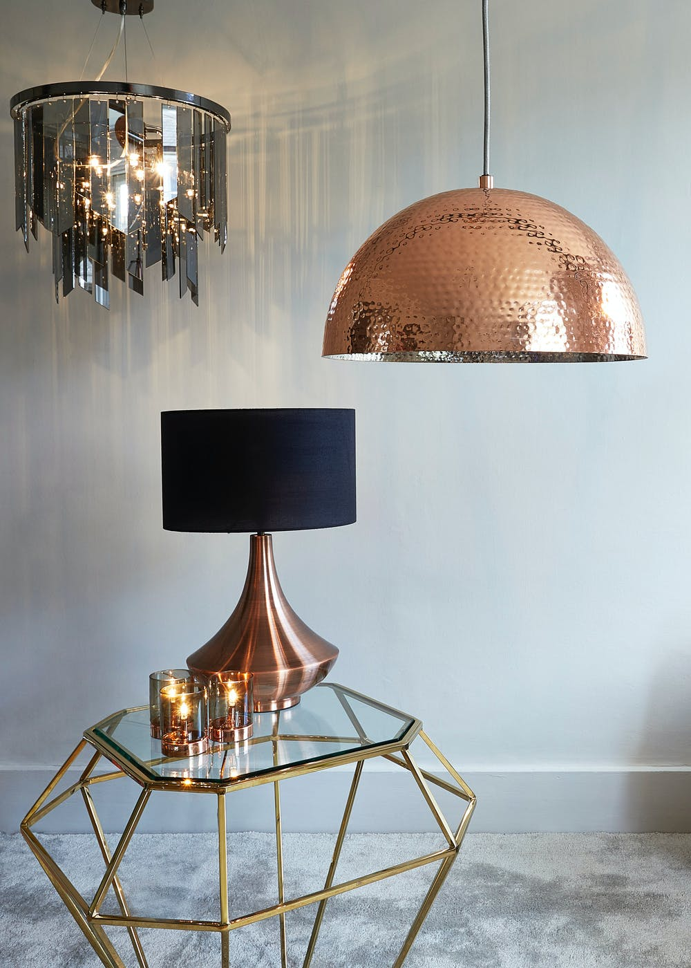 table lamps dar desk finish grey image lamp lighting adjustable and copper frederick in