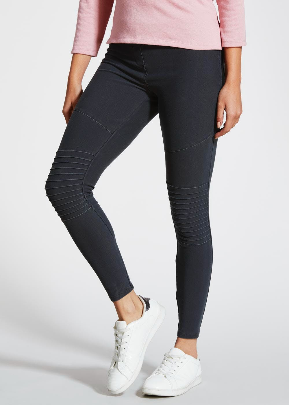 Pull On Biker Leggings