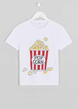 Girls Candy Couture Popcorn T-Shirt (9-16yrs)