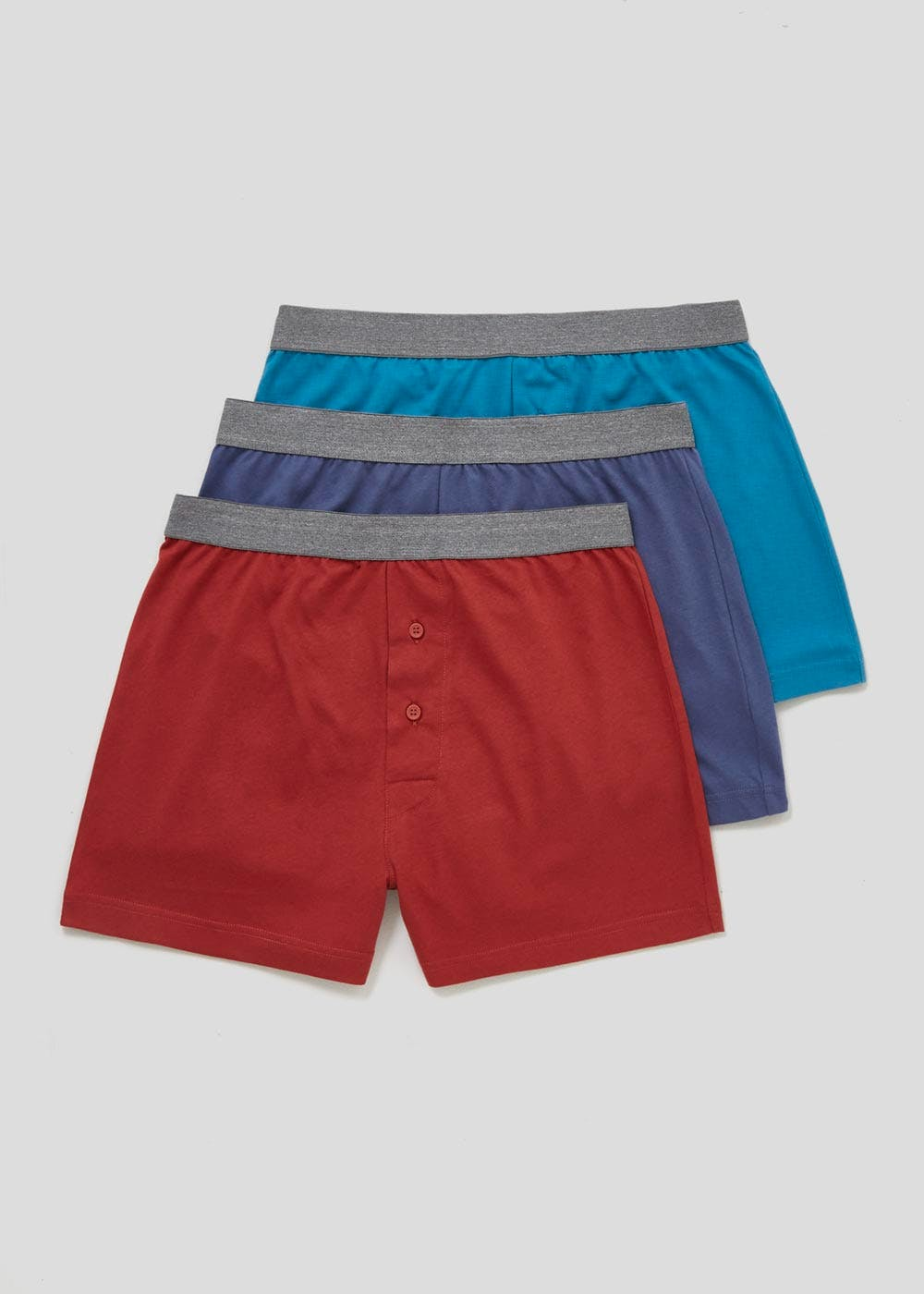 7596a3be03b450 3 Pack Loose Fit Boxers – Multi – Matalan