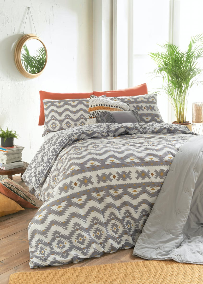 Diamond Aztec Duvet Cover