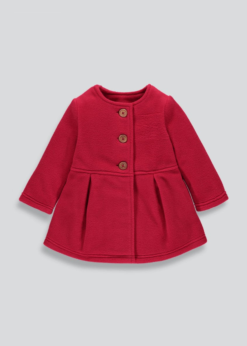 Girls Fleece Skater Jacket (3mths-6yrs)
