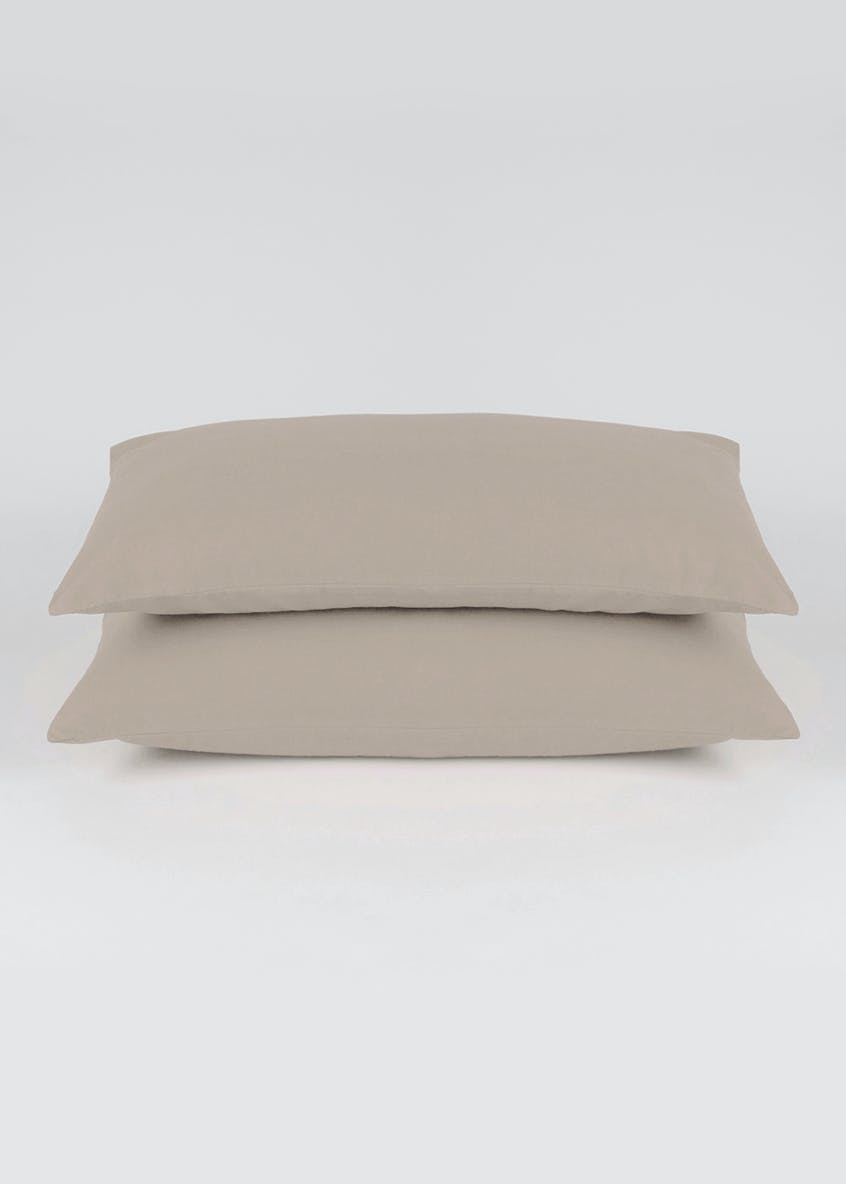 Cotton Rich Housewife Pillowcases (180 Thread Count)
