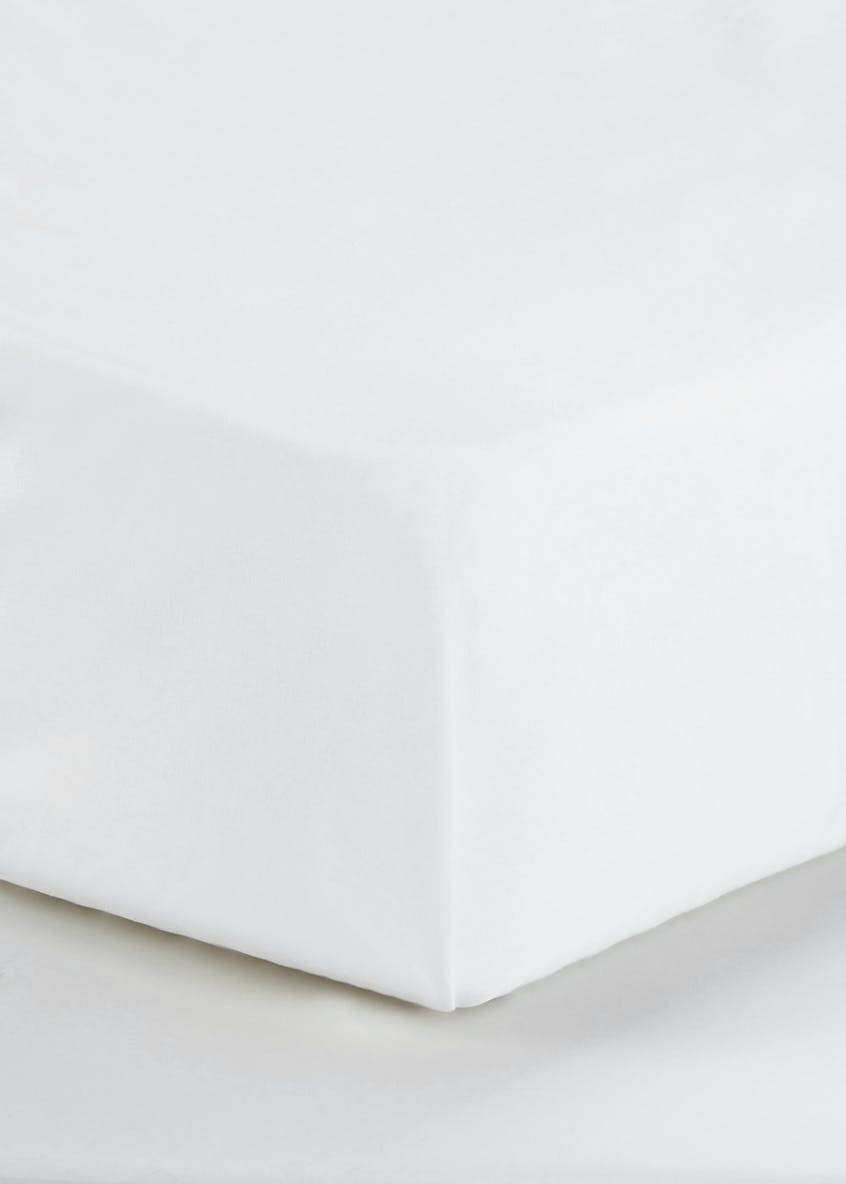 Cotton Rich Flat Bed Sheet (180 Thread Count)