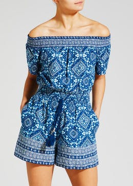 Sheered Playsuit