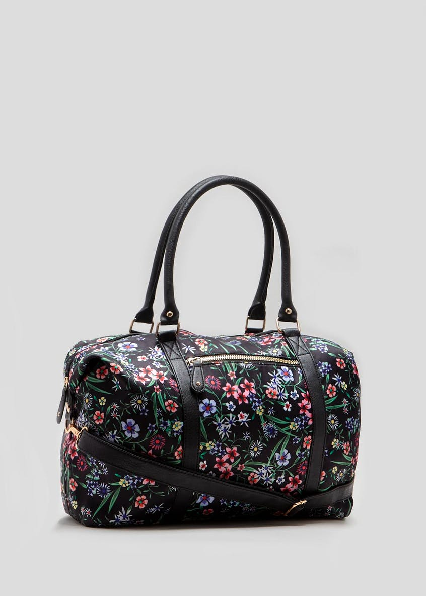 Floral Weekend Bag