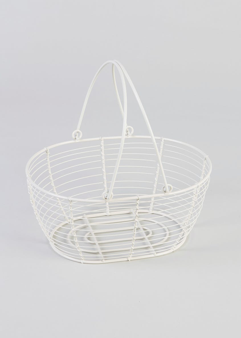 Wire Ware Storage Basket (21cm x 14cm)