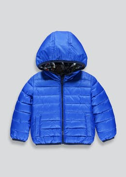 Boys Padded Reversible Jacket in a Bag (6mths-6yrs)