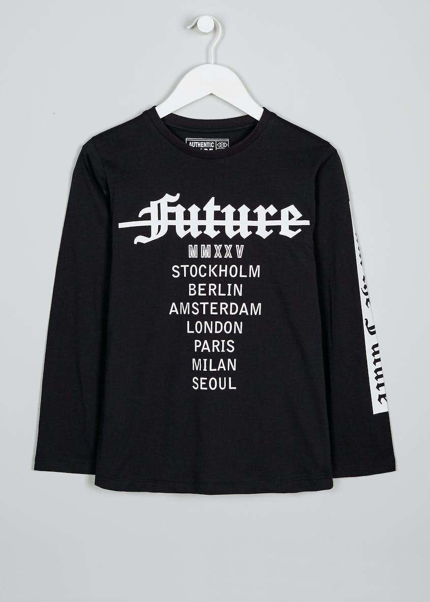 Boys Future Long Sleeve T-Shirt (9-16yrs)