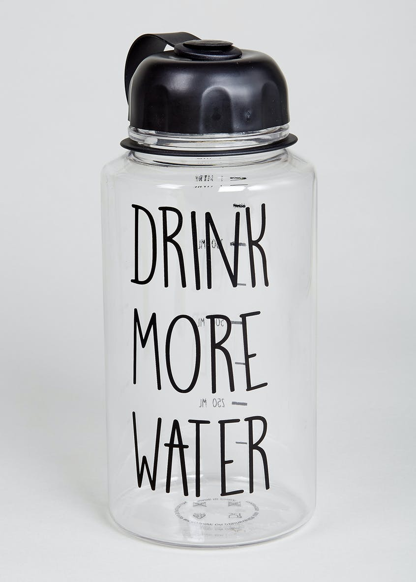 Drink More Water Bottle (21cm x 10cm)