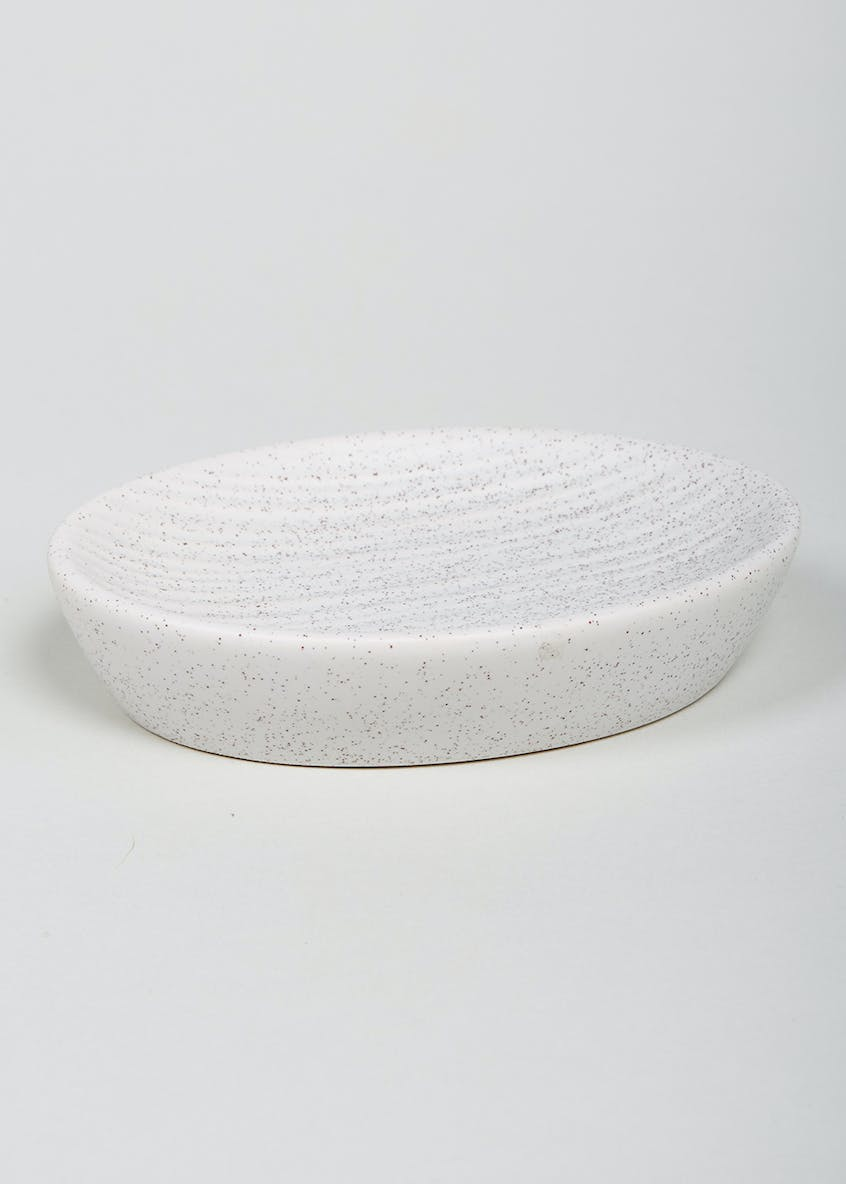 Ridged Spa Soap Dish (15cm x 6cm x 3cm)