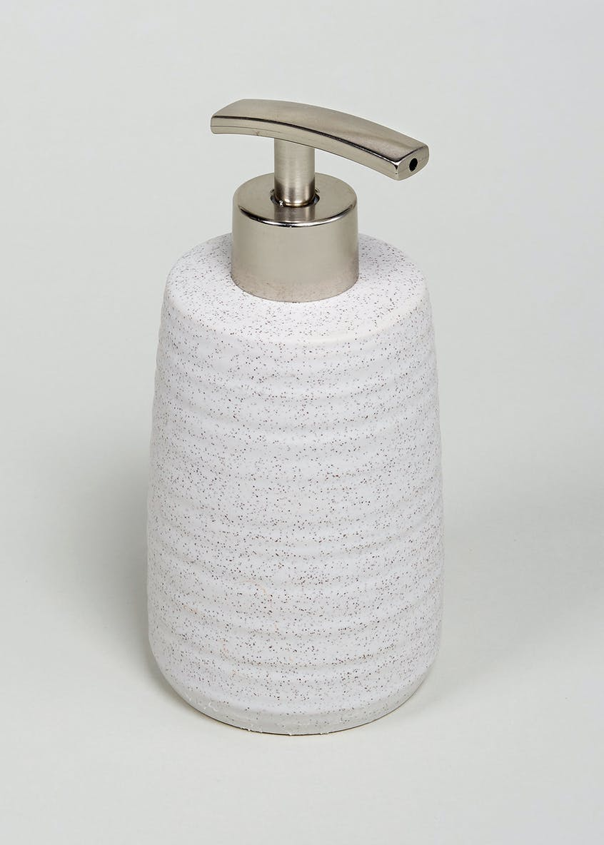 Ridged Spa Soap Dispenser (24cm x 18cm)