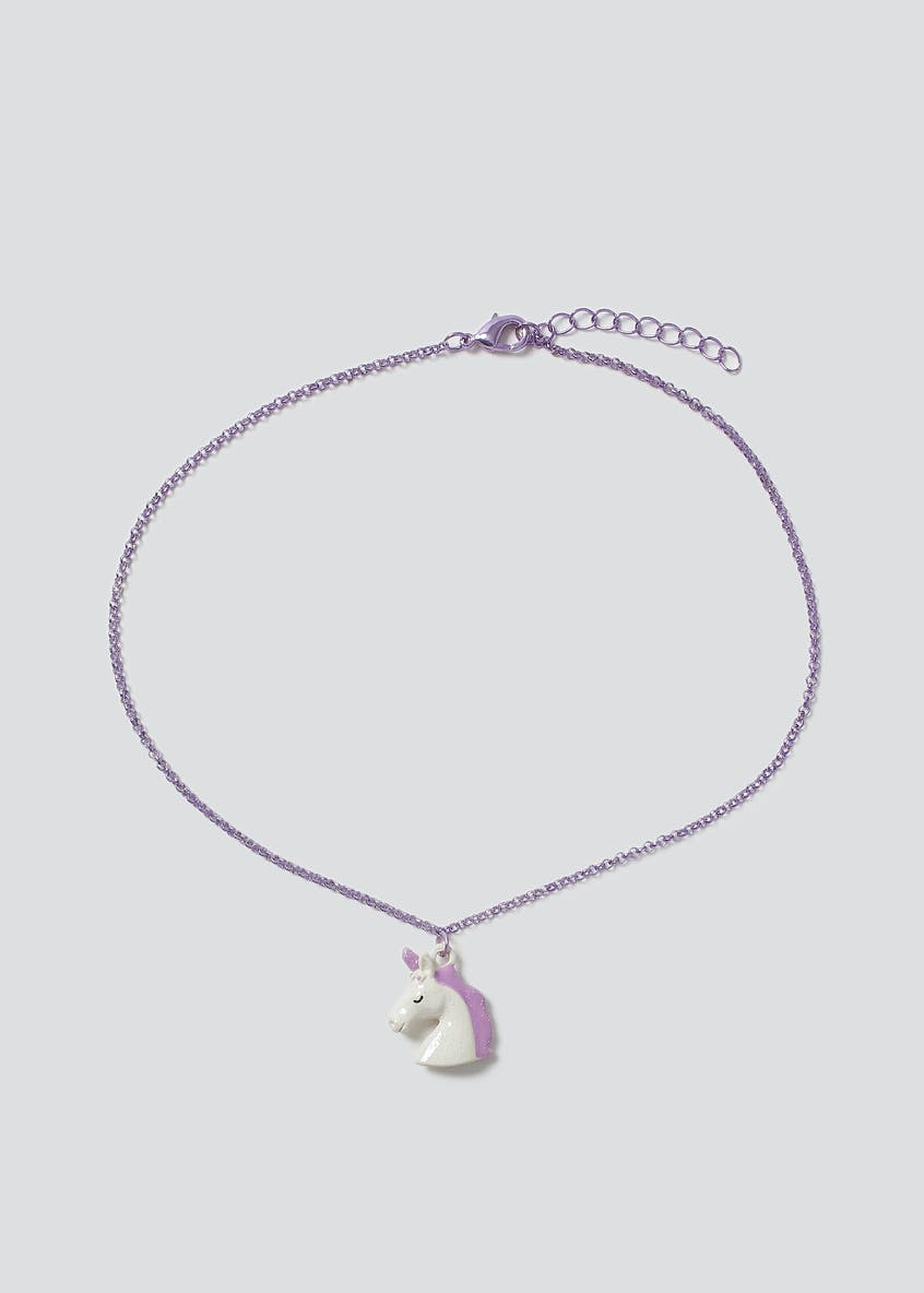 Unicorn Birthstone Necklace June