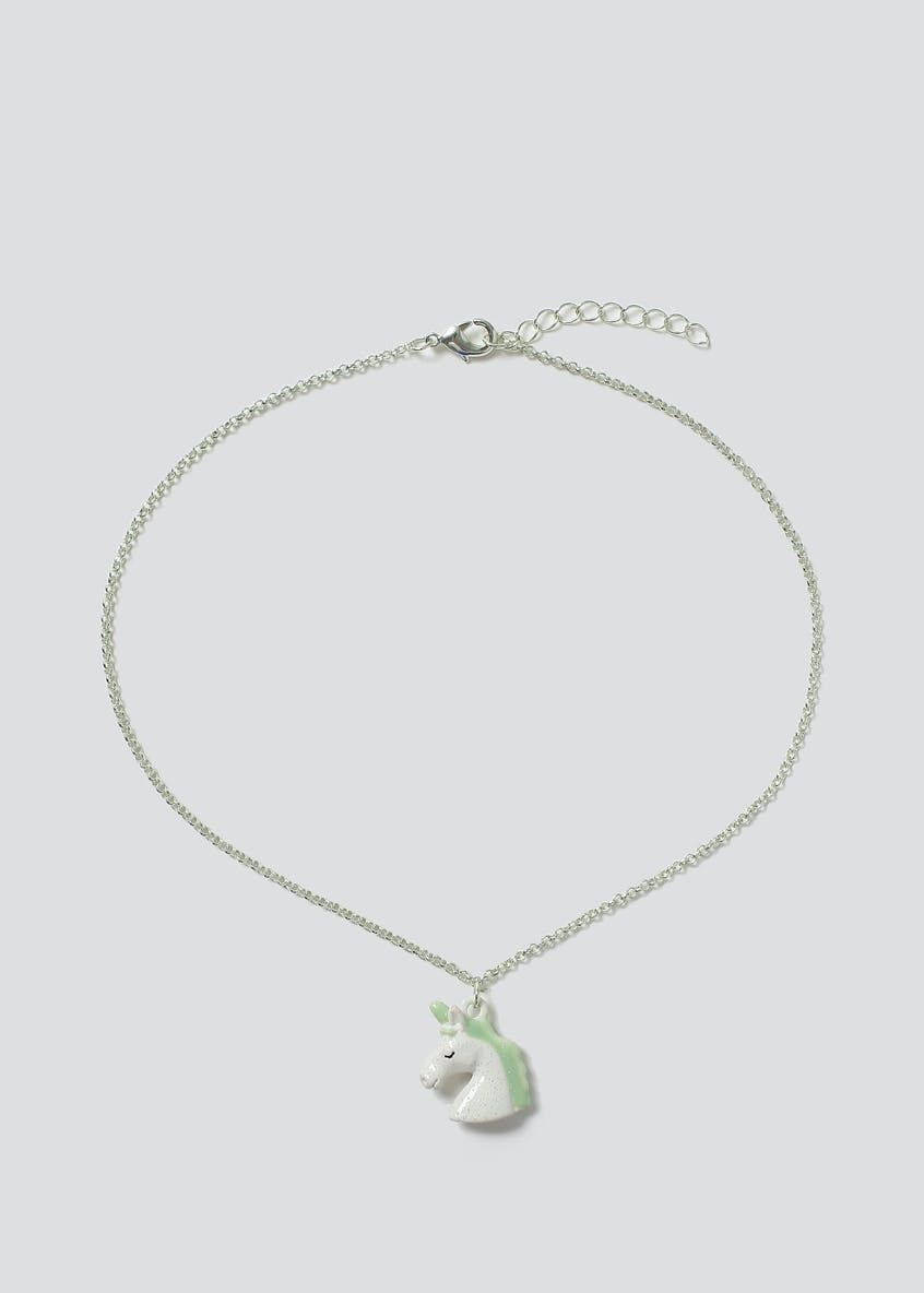 Unicorn Birthstone Necklace August