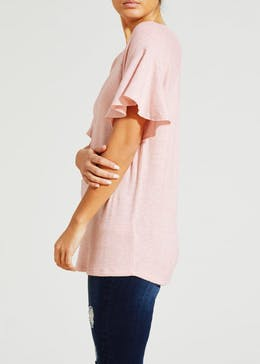 Frill Soft Touch T-Shirt