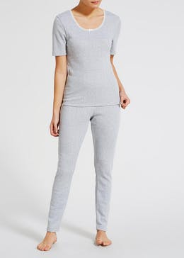 Thermal T-Shirt & Leggings Set