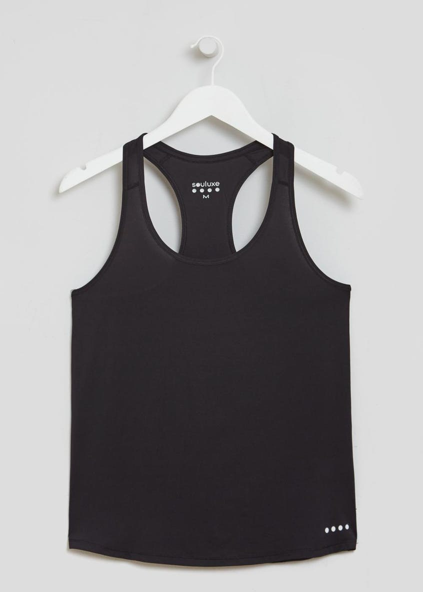 Souluxe Racer Back Fitted Gym Vest