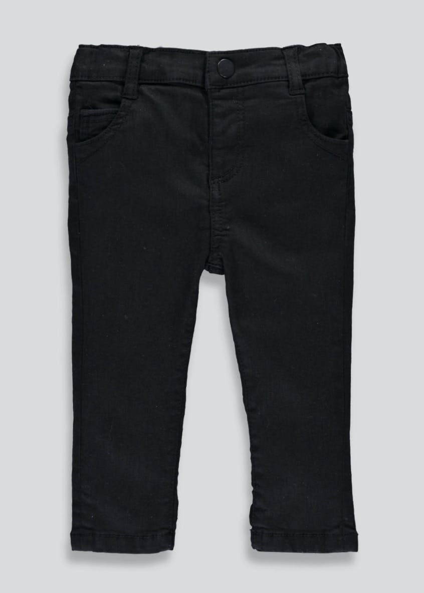Black Stretch Skinny Jeans (3mths-5yrs)