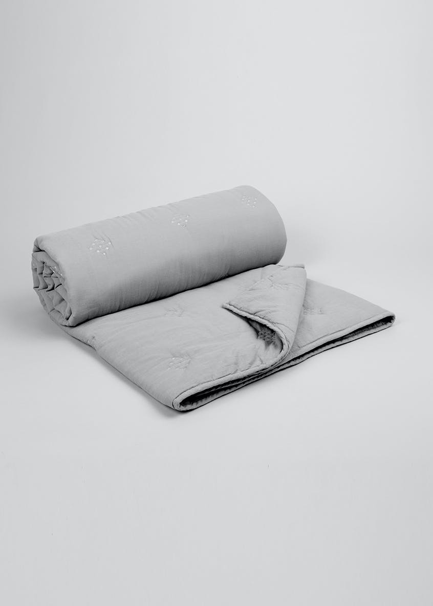 Washed Cotton Throw (200cm x 150cm)