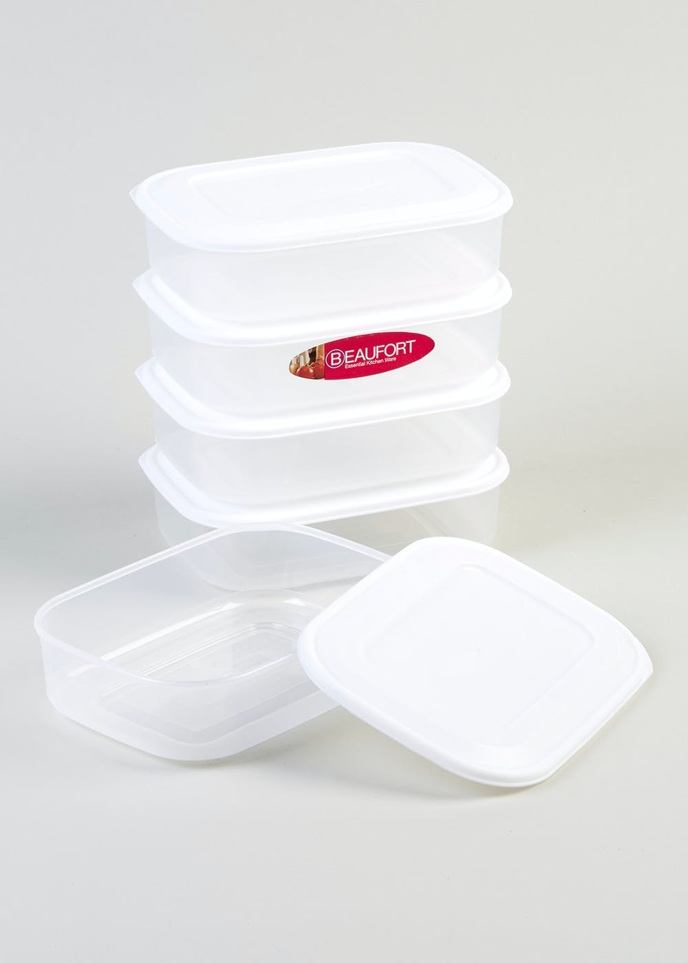 Meal Prep Food Storage Containers 19cm X 14cm 5cm