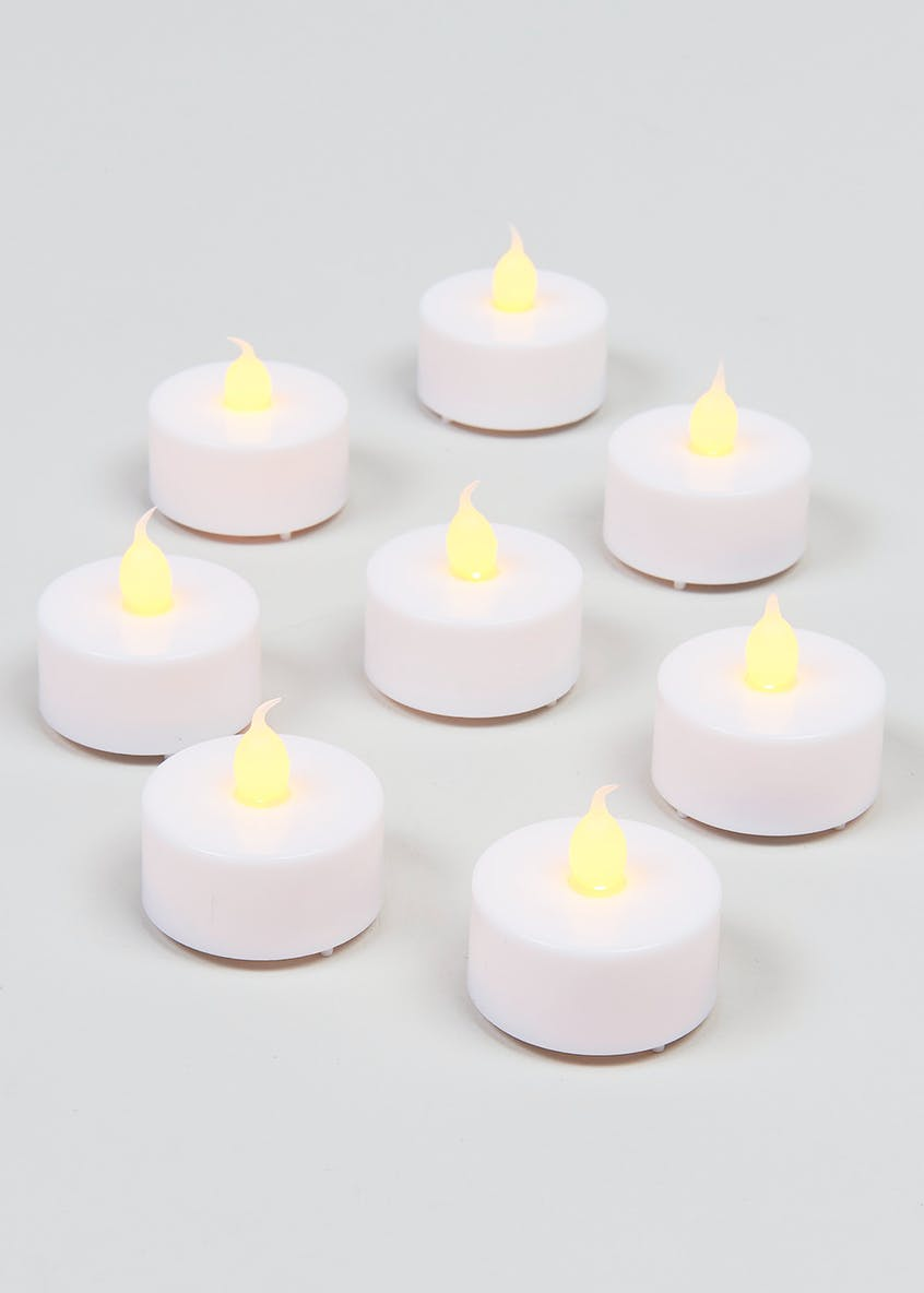8 Pack Battery Operated LED Tealights
