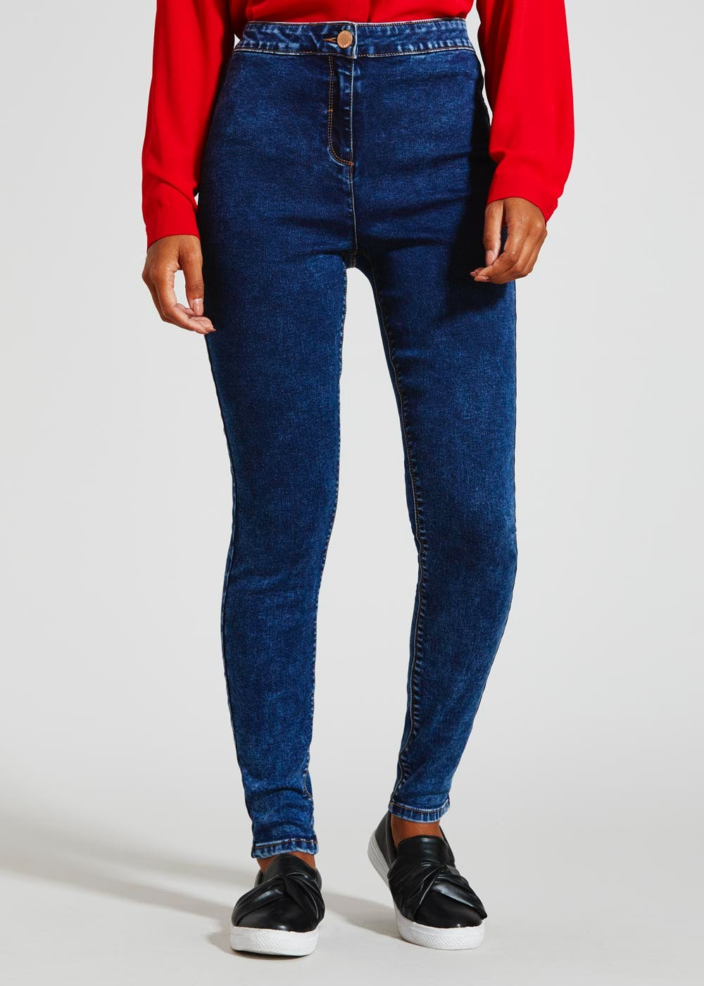 new images of factory price a few days away Jessie High Waisted Jeans – Darkwash – Matalan