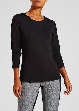 Souluxe Fitted Long Sleeve Gym T-Shirt