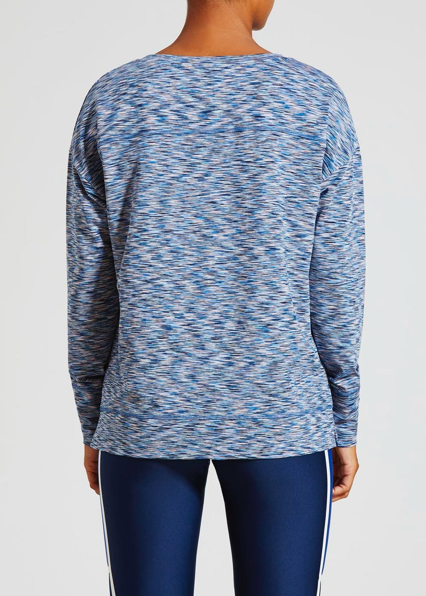 Souluxe Space Dye Sports Sweatshirt