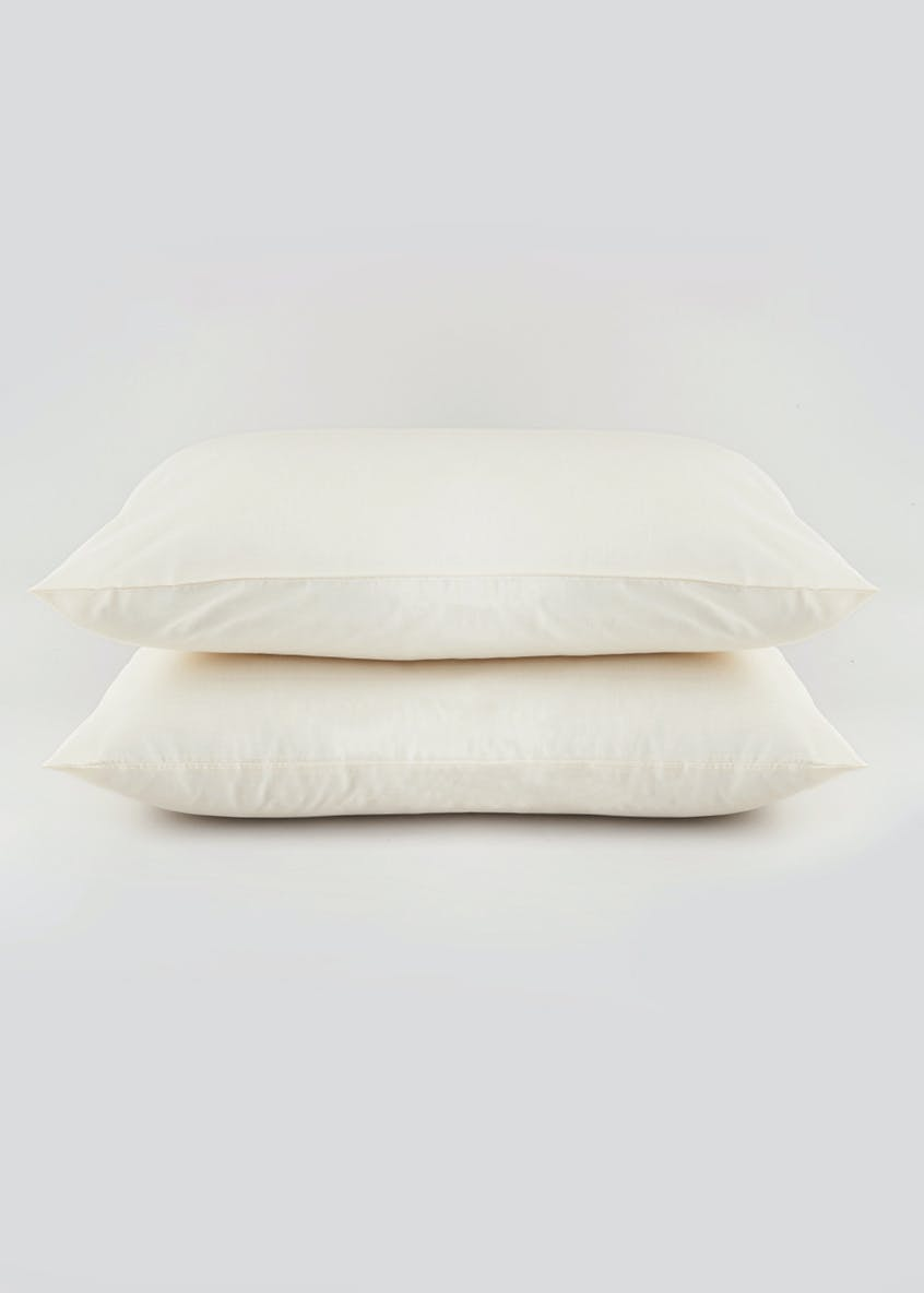100% Cotton Housewife Pillowcase Pair (200 Thread Count)