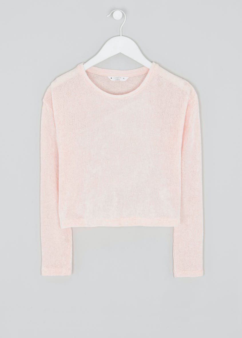 Girls Candy Couture Chenille Jumper (9-16yrs)