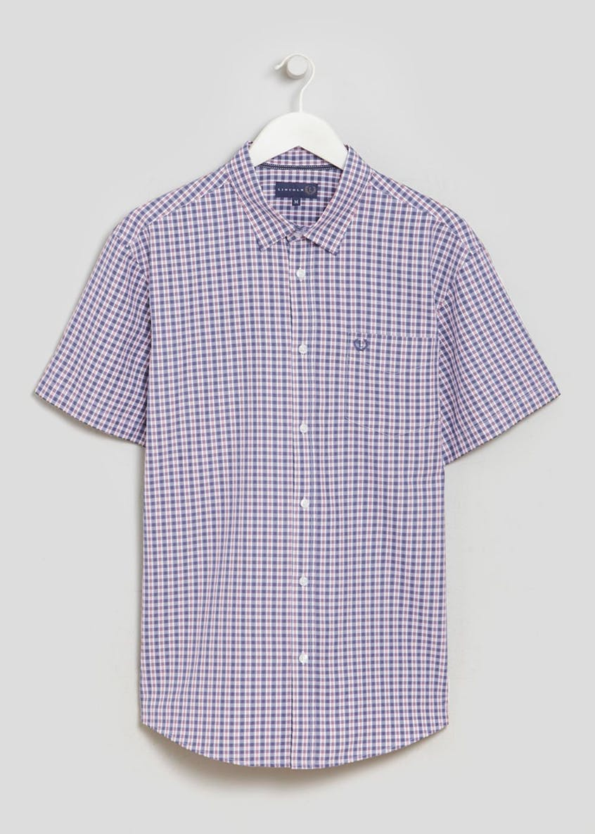 Lincoln Short Sleeve Gingham Shirt