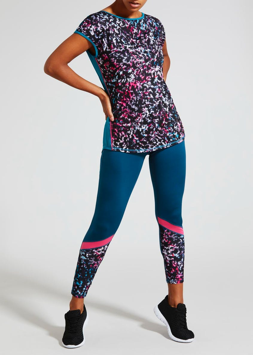 Souluxe Smudge Sports Leggings