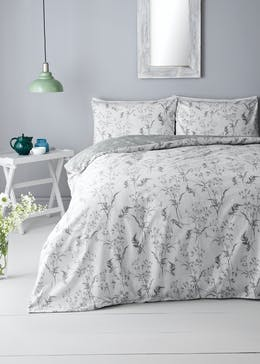 Green Leaf Botanical Duvet Cover
