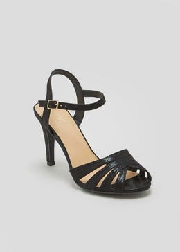 Wide Fit Caged Heels