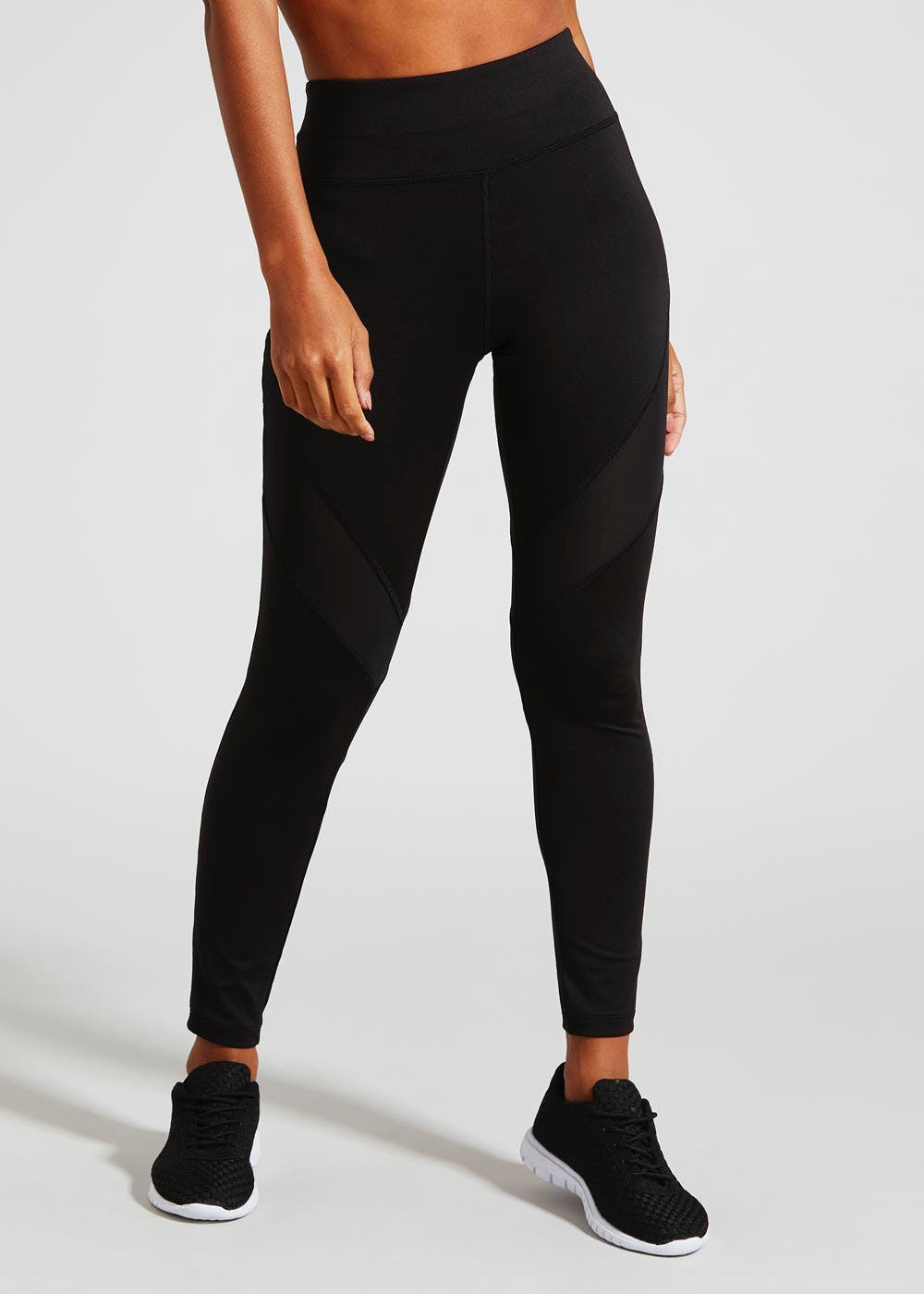 big collection the latest quality and quantity assured Souluxe Mesh Panel Gym Leggings