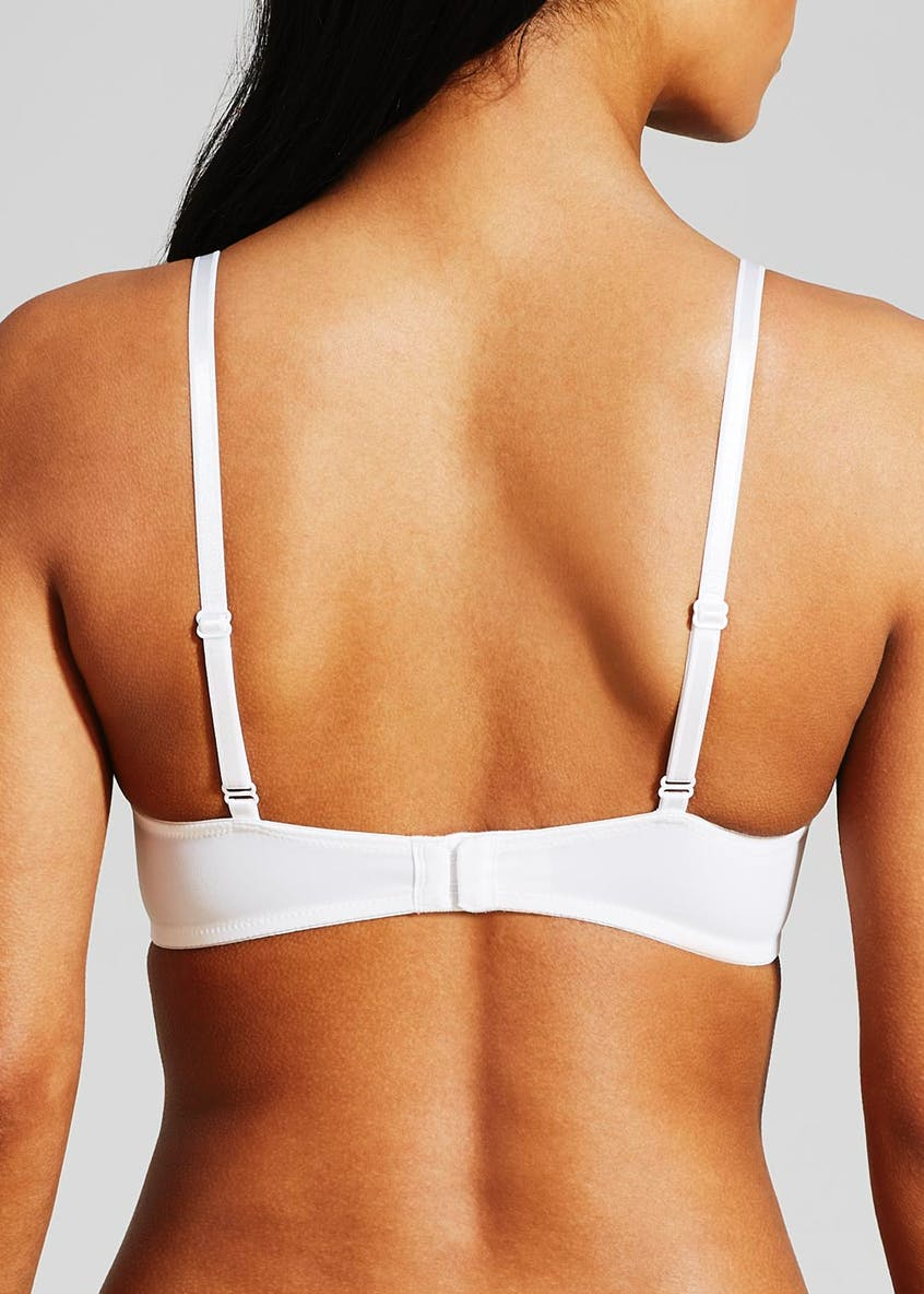 2 Pack Smooth Plunge Push Up Bras