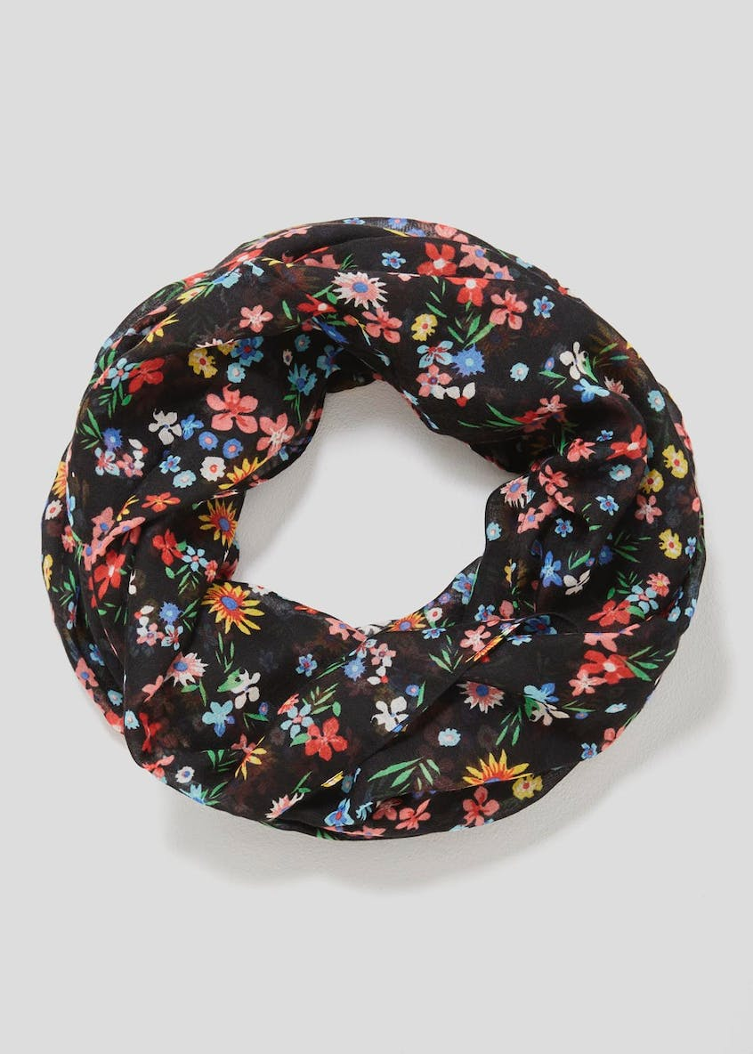 Floral Woven Snood