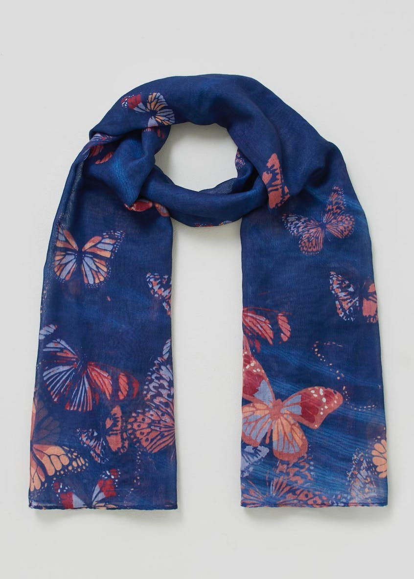 Butterfly Woven Scarf